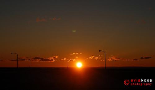 sunrise at Duluth