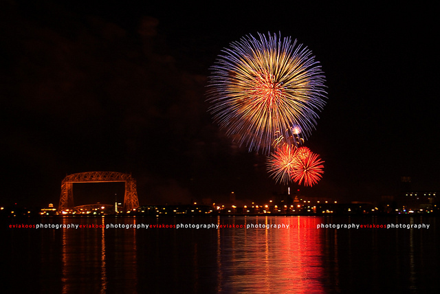 Duluth Firework - 4th of July 2011