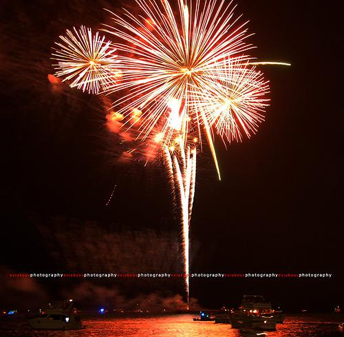 Navy Pier Fireworks - Chicago